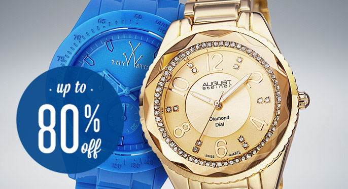 Watches: Up to 80% Off at Gilt