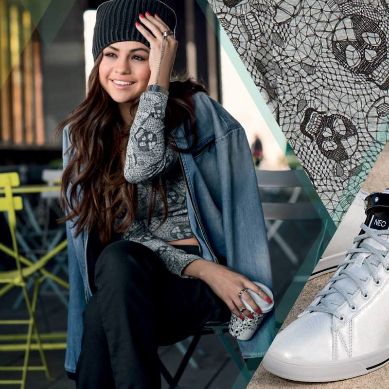 adidas NEO Selena Gomez Fall 2014 Collection