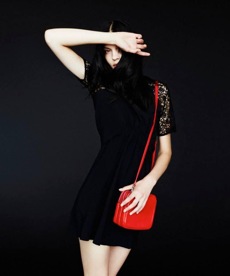 A.L.C. Lace-Sleeve Rakim Dress