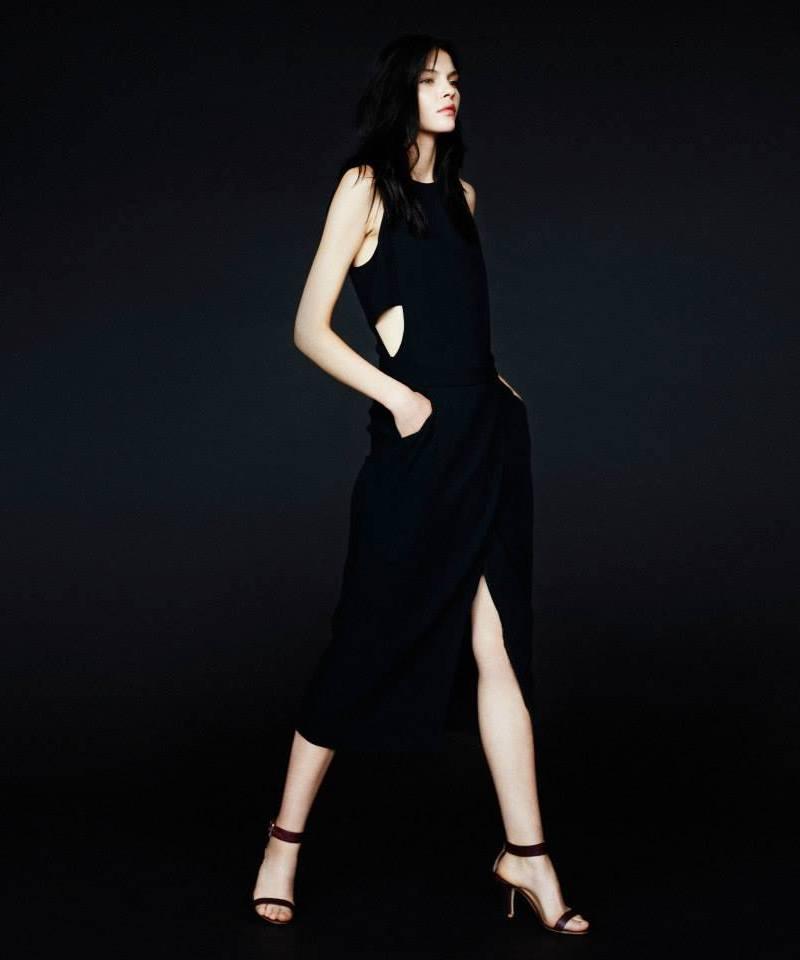 A.L.C. Open-Side Monty Dress