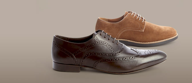 A.Testoni Basic Oxfords for $165 at Belle & Clive