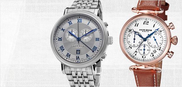 Akribos XXIV Women's & Men's Watches at Rue La La