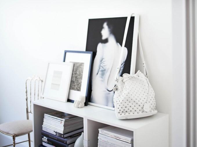Alexander McQueen Studded Padlock Bucket Bag