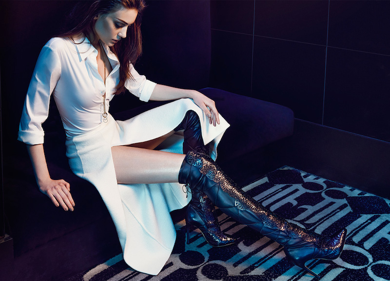 Alexandre Birman Python Over-The-Knee Boots