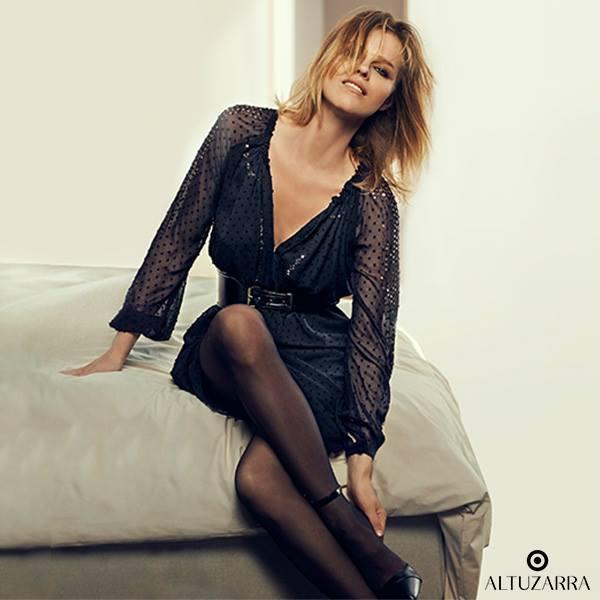 Altuzarra for Target Sequined Swiss-dot Chiffon Dress