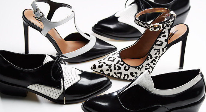 Always Stylish: Black & White Accessories at Gilt