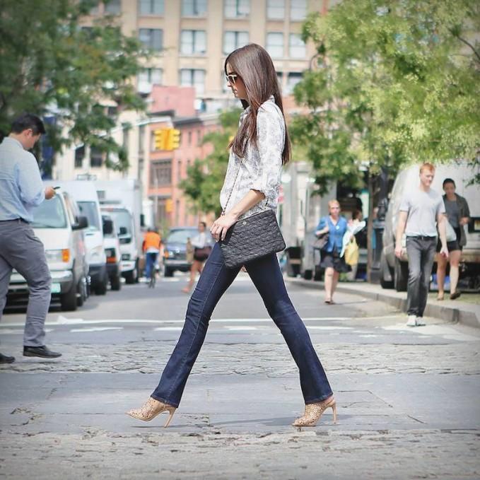Ann Taylor Curvy Boot Cut Jeans
