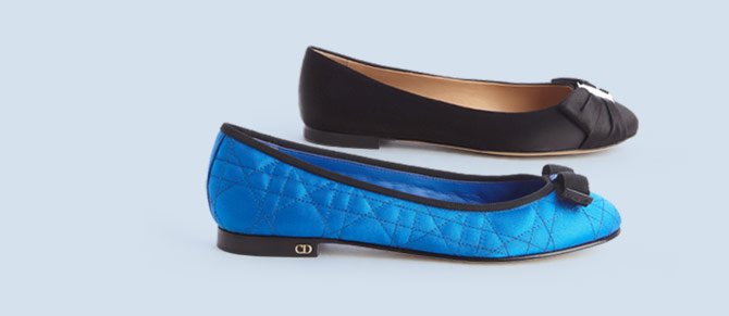 Ballet Flats ft. Christian Dior, Gucci & More at Belle & Clive
