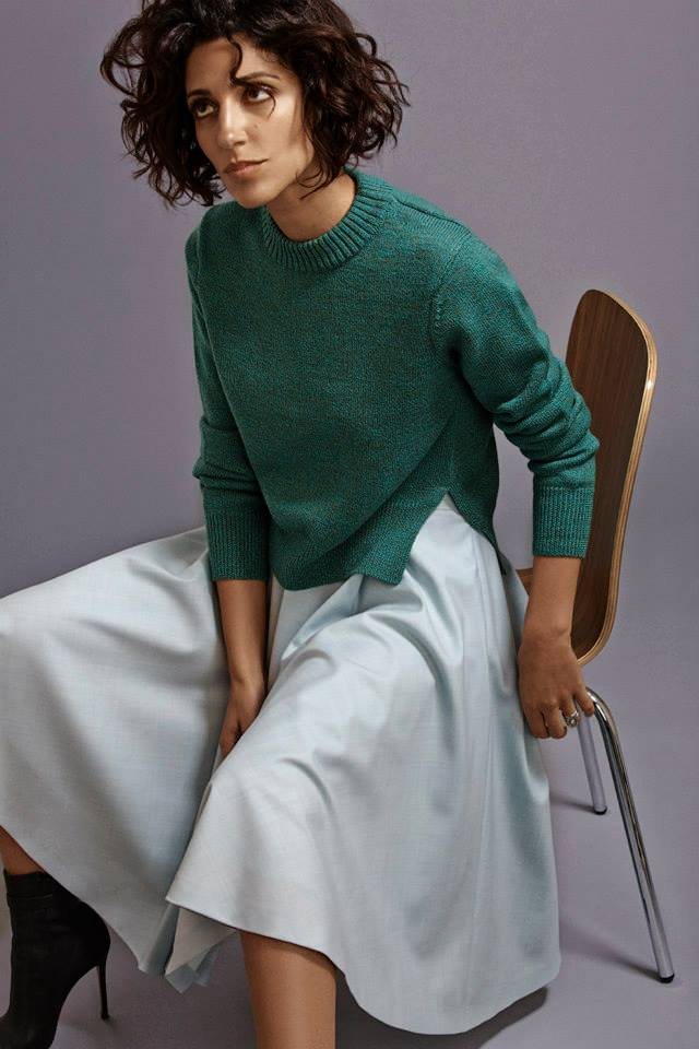 Barneys New York x Yasmin Sewell Mélange Pullover Sweater
