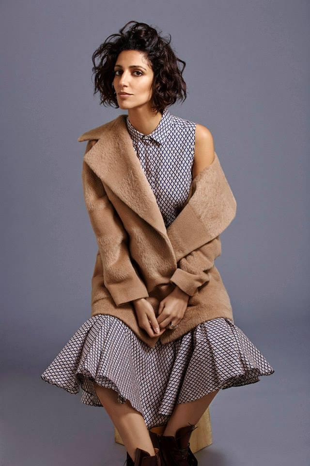 Barneys New York x Yasmin Sewell Textured-Stripe Oversize Peacoat