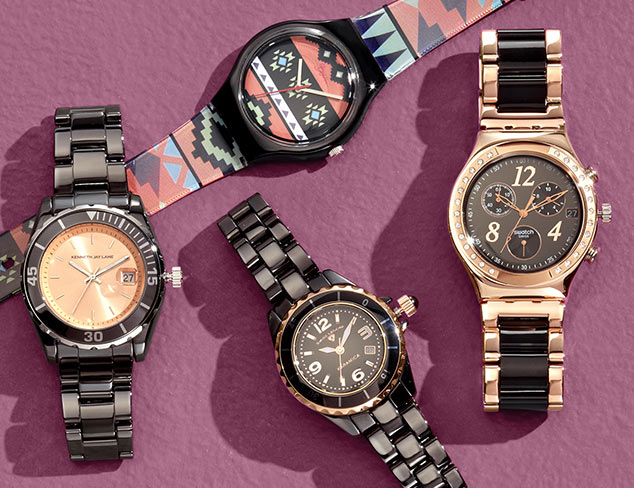 Best of Black: Watches, Jewelry & More at MYHABIT