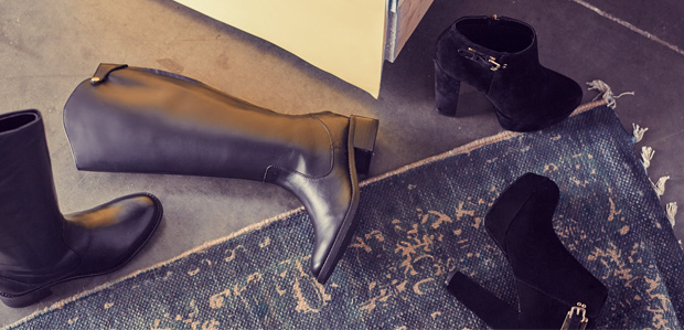 Black Boots: Wear Them with Everything at Rue La La