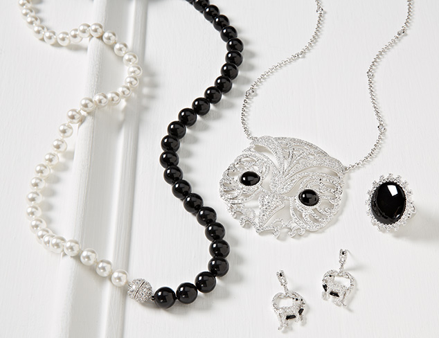 Black & White: Jewelry Finds at MYHABIT