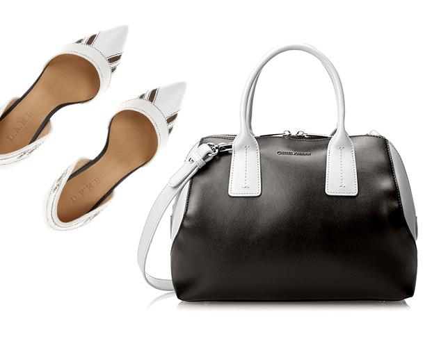 Black & White: Shoes, Handbags & More at MYHABIT