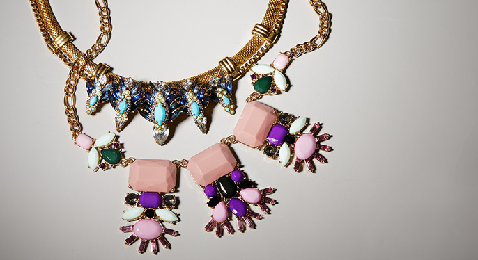 Bold Bib Necklaces at Gilt