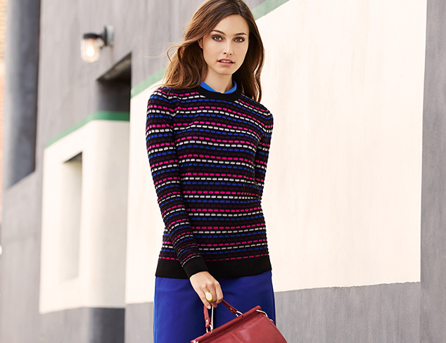 Bright & Bold: Colorful Sweaters at MYHABIT