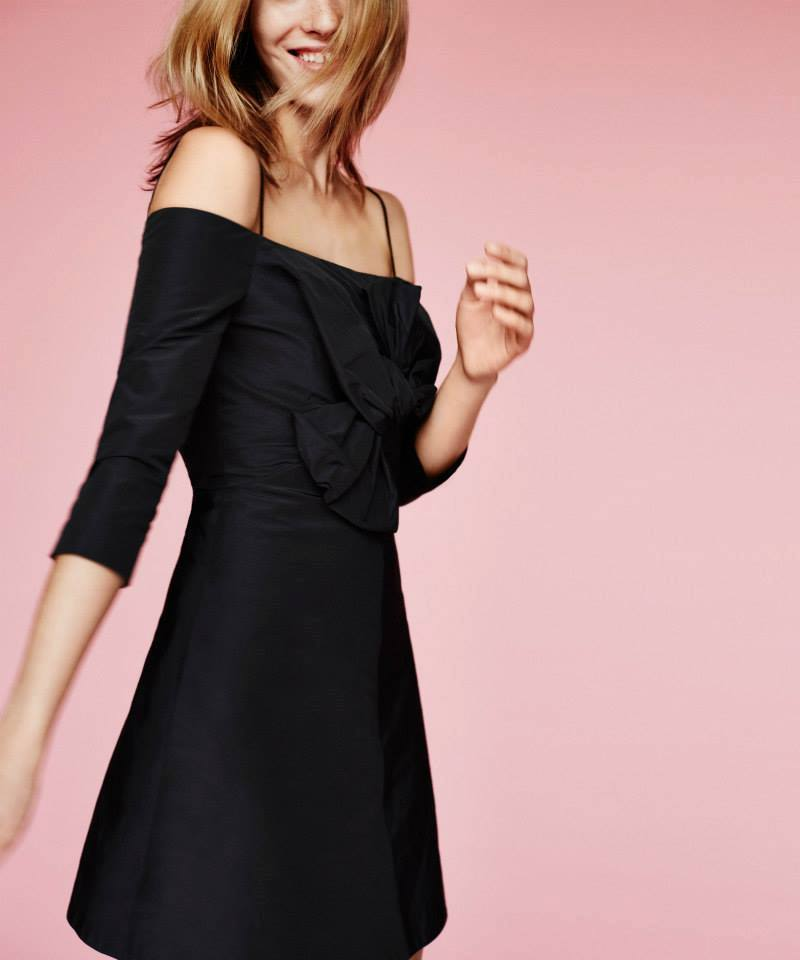 Carven Off-the-Shoulder Dress