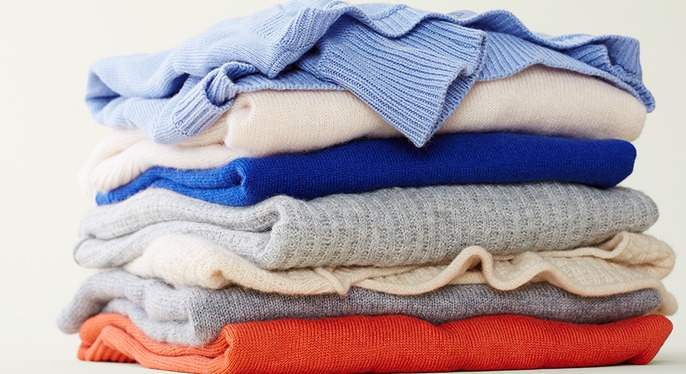 Cashmere in Every Color at Gilt