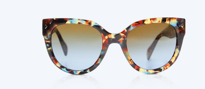 Cat Eye Frames ft. Prada, Nina Ricci & More at Belle & Clive