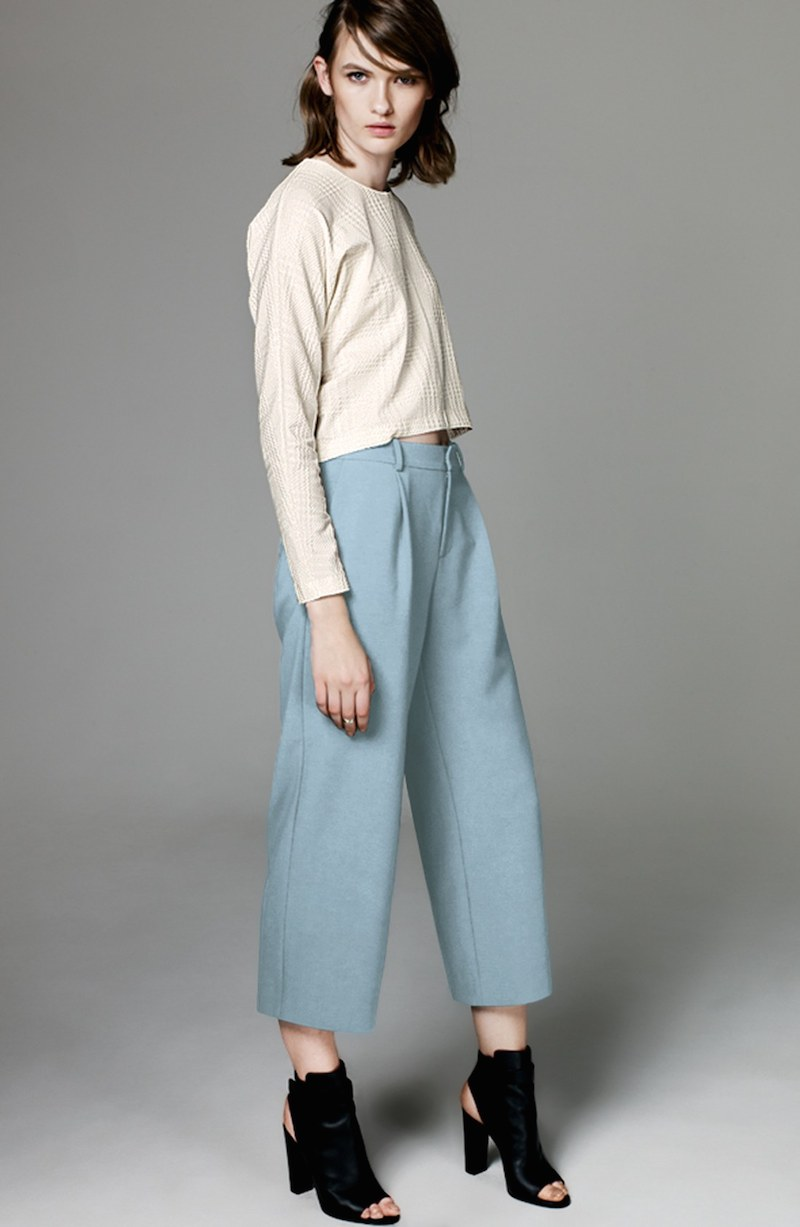 Chelsea28 Wide Leg Crop Pants