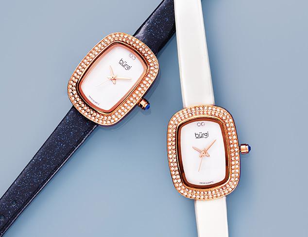Classic Style: Burgi Watches at MYHABIT