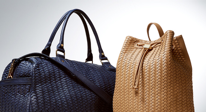Classic Woven Accessories by Deux Lux at Gilt