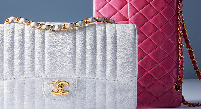 Color Fix: Vintage Chanel Handbags at Gilt