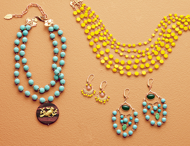 Colors of the Rainbow: Vibrant Jewelry at MYHABIT
