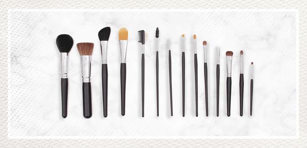 Crown Brush Makeup & Brushes at Rue La La