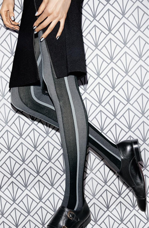 DKNY Bold Stripe Tights