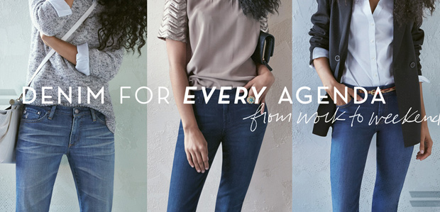 Denim for Every Agenda: From Work to Weekend at Rue La La