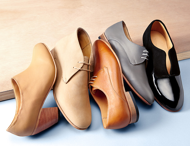 Designer Flats: Loafers, Oxfords & More at MYHABIT