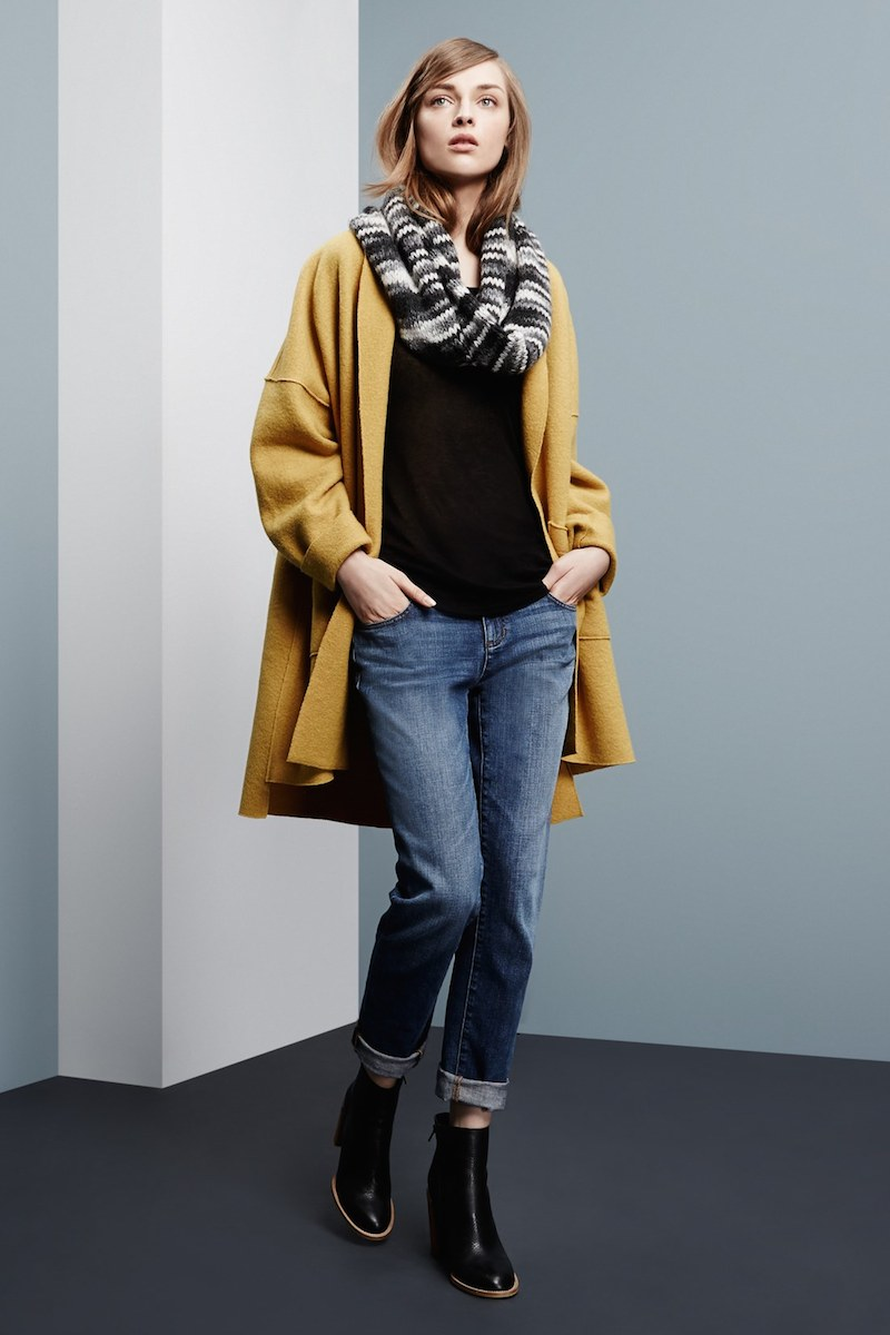 Eileen Fisher Fall 2014 Collection Lookbook Nawo