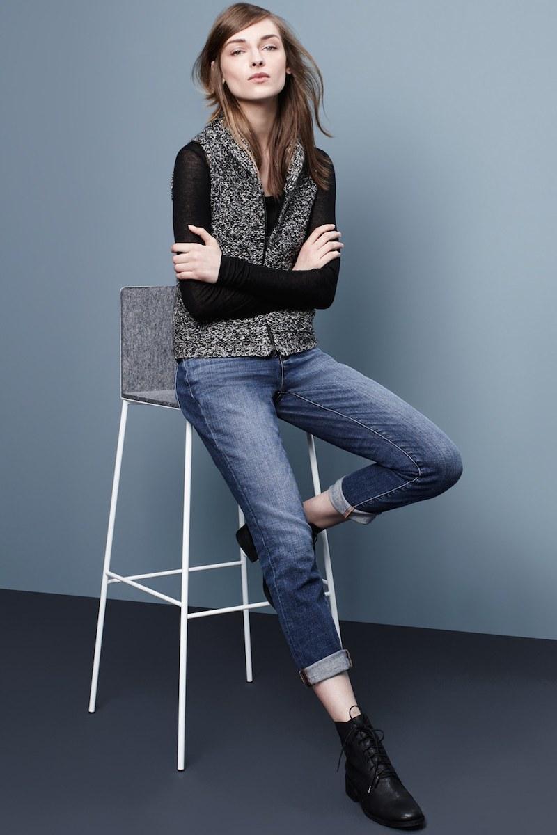Eileen Fisher Merino & Yak Wool Sweater Vest