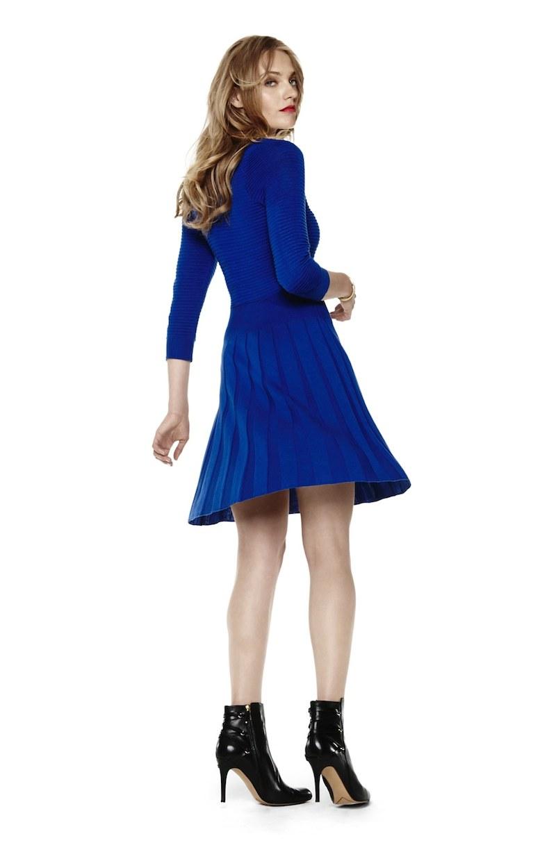 Eliza J Knit Blouson Dress