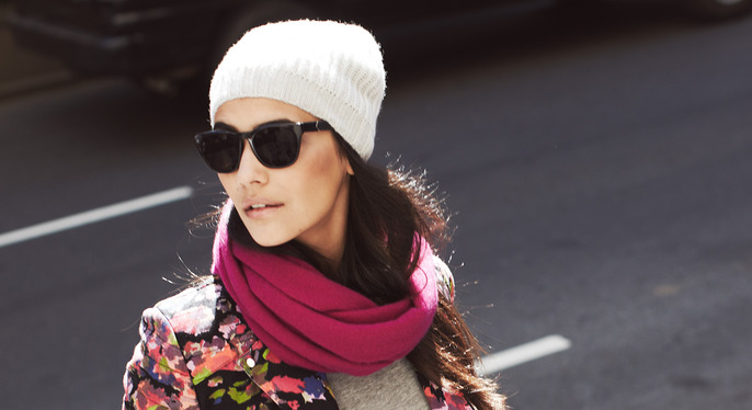 Fall Accessory Fix: Hats, Scarves & More at Gilt