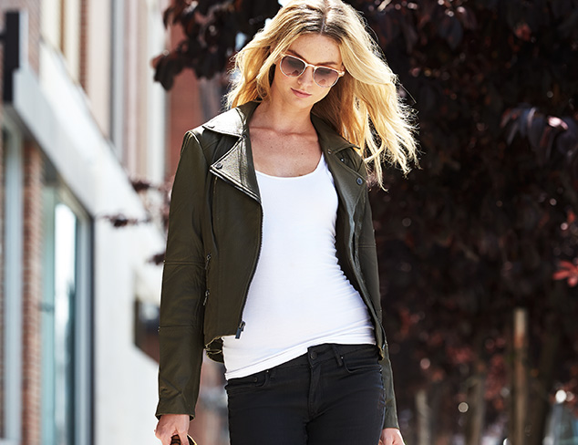 Fall Outerwear: Moto Jackets, Trenches & More at MYHABIT