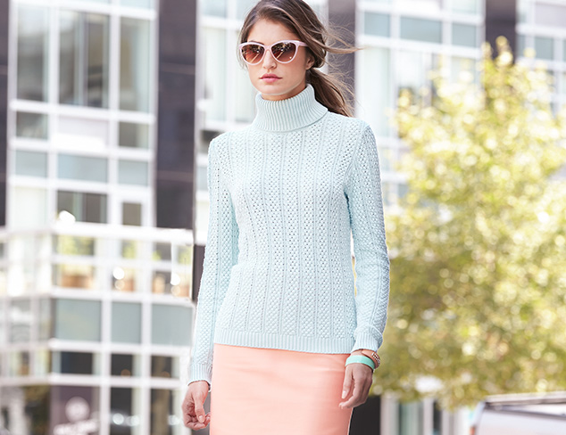 Fall Pastels: Sweaters, Tops & Tees at MYHABIT