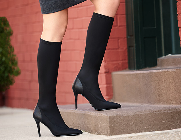 Fall Shoe Trend: Stretch Boots at MYHABIT