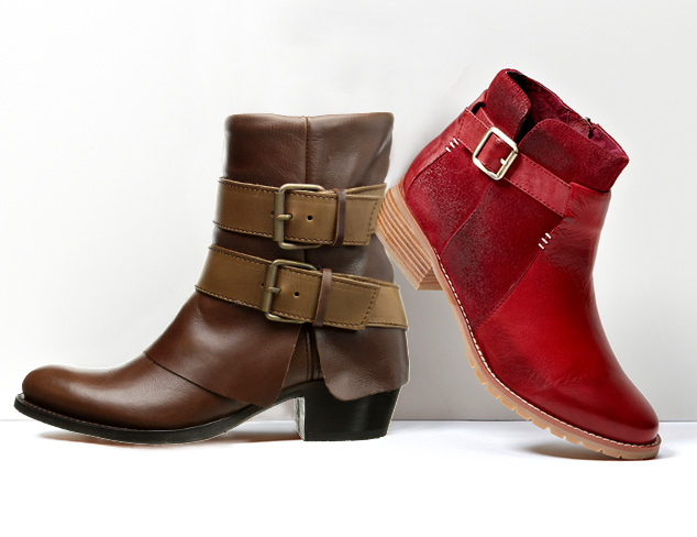 Fall Shoe Trend: The Buckled Boot at MYHABIT