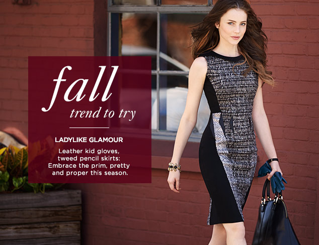 Fall Trend to Try: Ladylike Glamour at MYHABIT