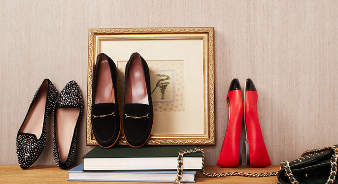 Fall for Flats at Gilt