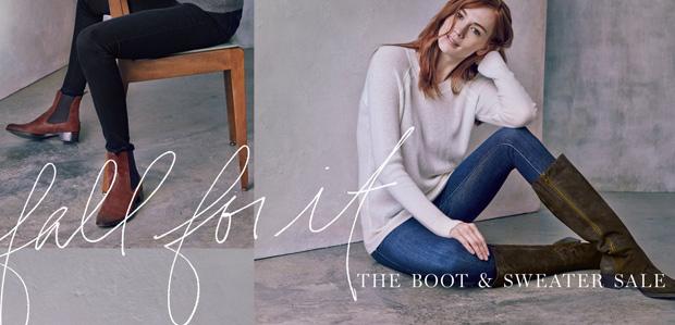 Fall for It: The Boot & Sweater Sale at Rue La La
