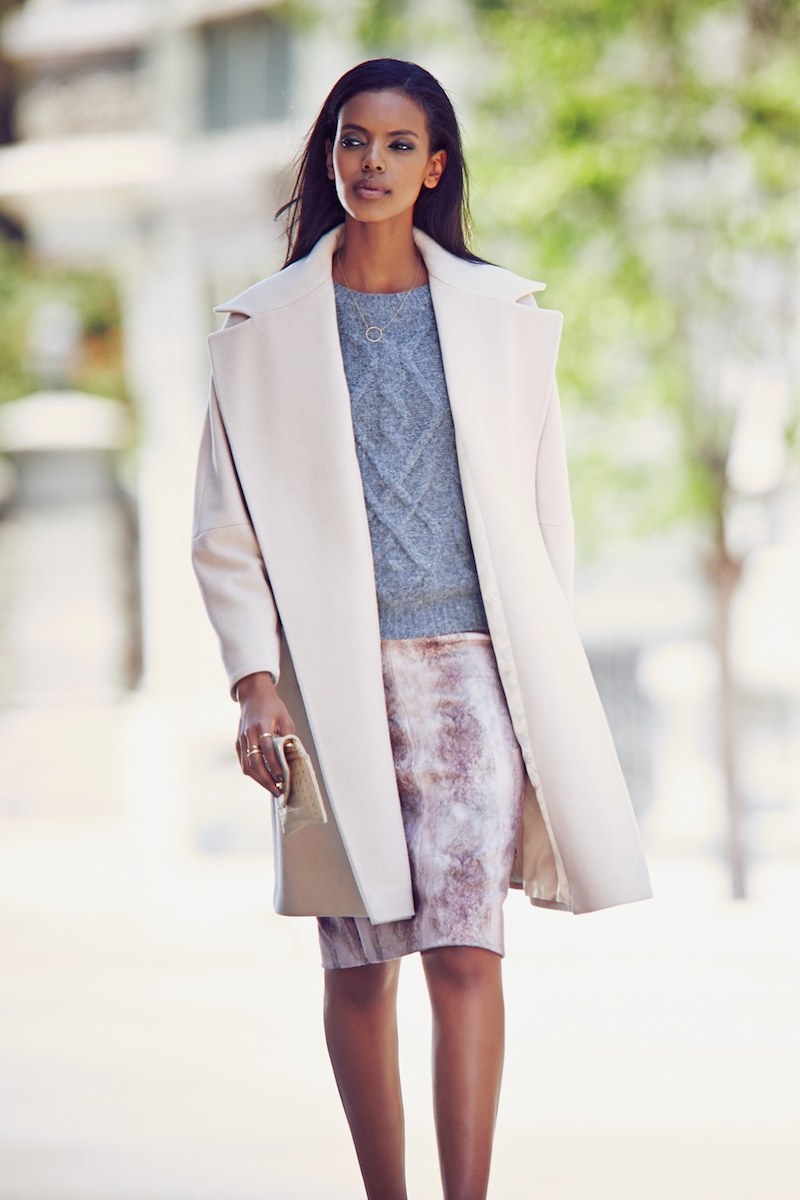 Fleurette Loro Piana Wool Clutch Coat