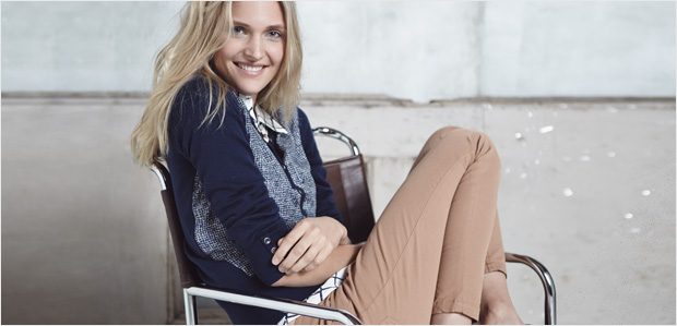 For Casual Friday: Relaxed Tops, Pants, & More at Rue La La
