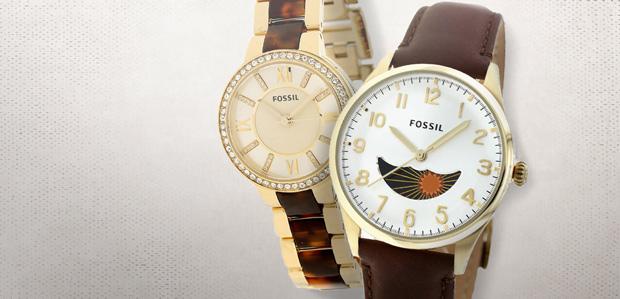 Fossil Women's & Men's Watches at Rue La La