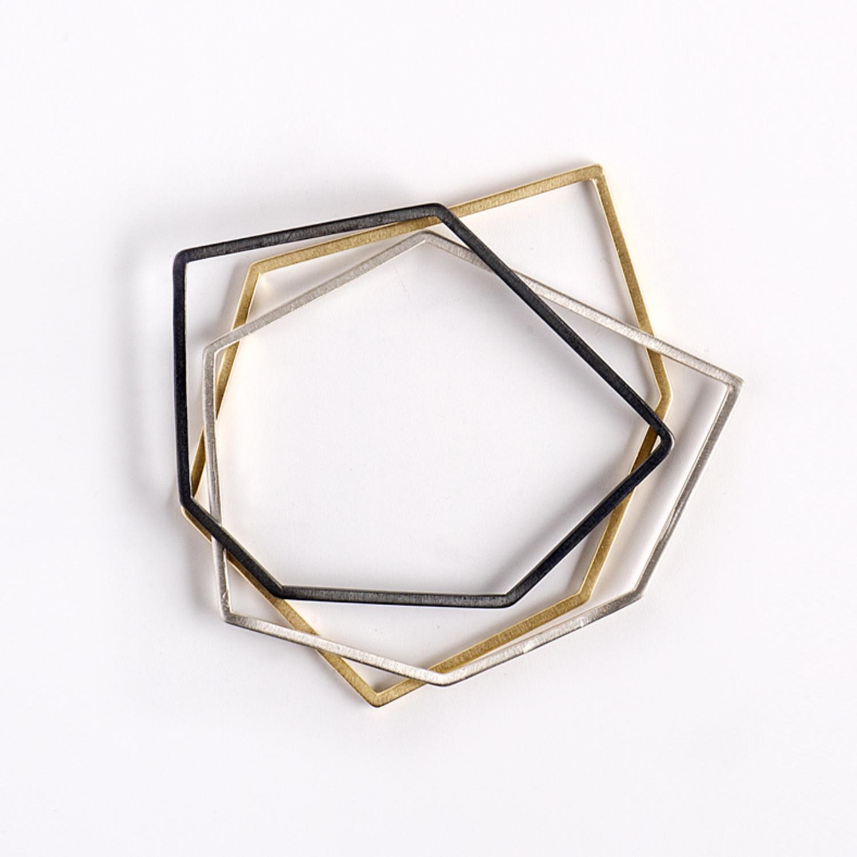 TheFORMA Geometric Bangles