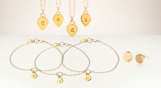 Get Personal: Initial Pendants & More at Gilt
