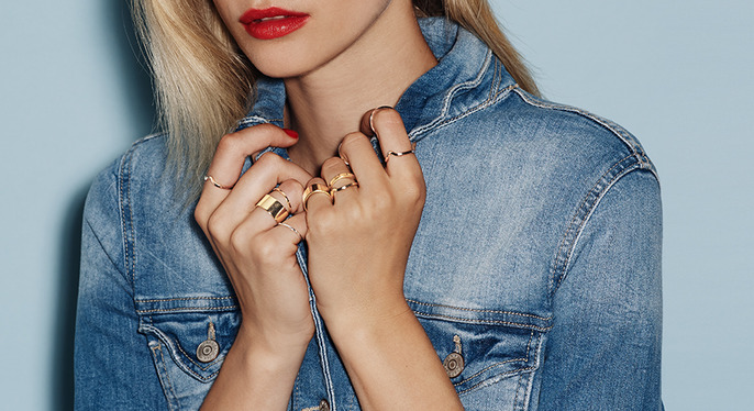 Get Stacking: Layer-Ready Rings at Gilt