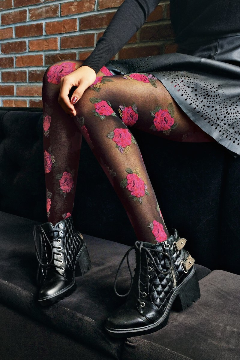Hue Country Club Rose Tights